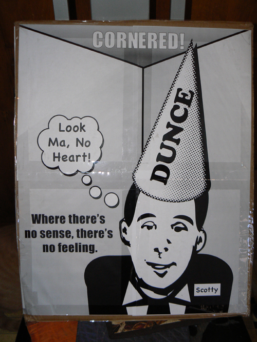 Scott Walker is a Dunce