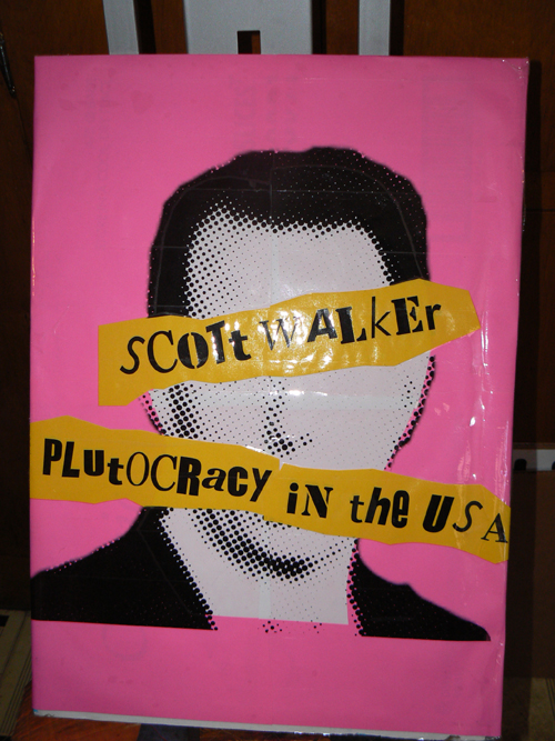 Scott Walker : Plutocracy in the USA