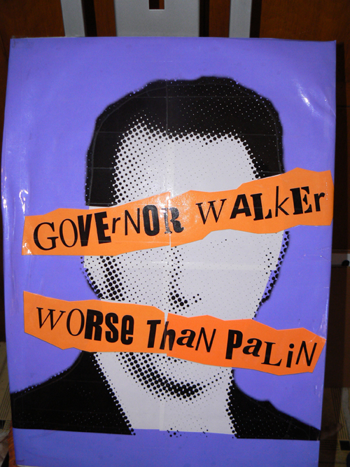 Scott Walker : Worse than Palin